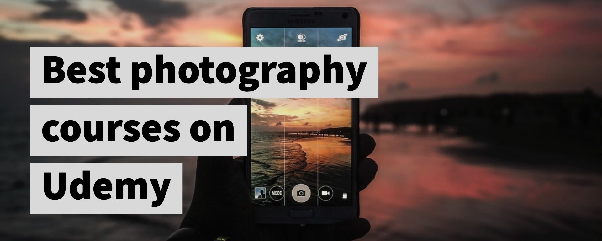 Best online photography courses on Udemy | TechRev me
