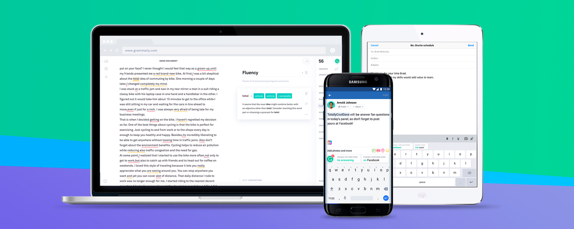 Grammarly Proofreading Software One Year Warranty